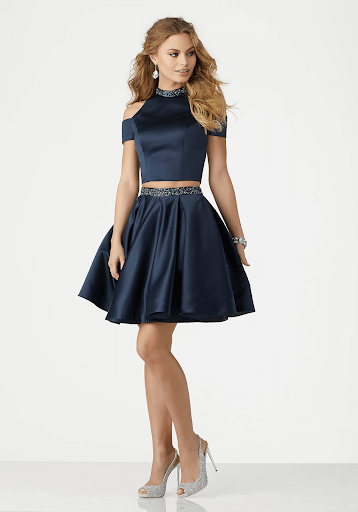 TWO-PIECE COCKTAIL DRESS