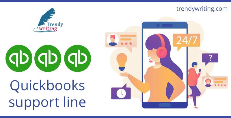 Quickbooks support line
